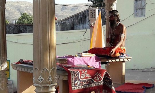 Sadhus in Pushkar