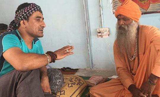 Sadhu in Pushkar